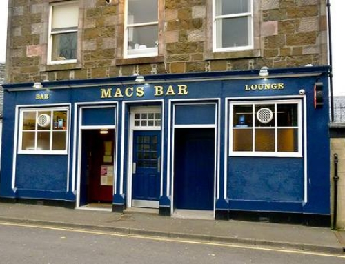 Thank You to Macs Bar