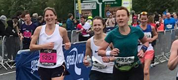 Our trustee Fiona smashes her first full marathon